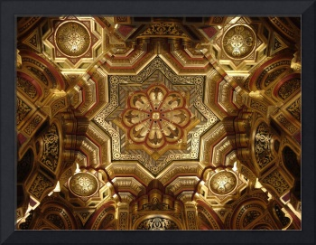 Ceiling, Cardiff Castle, Wales