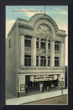 Colonial Theatre, Hagerstown MD, ca. 1916