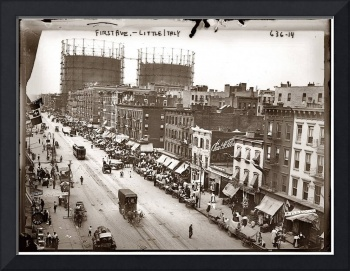 Little Italy NYC Photograph (1908)