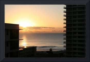 Sunset at Surfers Paradise Qld
