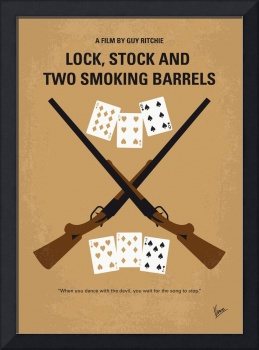 No441 My Lock, Stock and Two Smoking Barrels minim