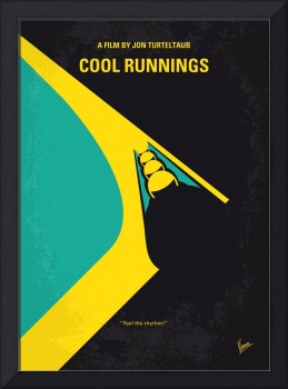 No538 My COOL RUNNINGS minimal movie poster