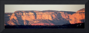 Red Rock Cliffs - Large Presentation 0004