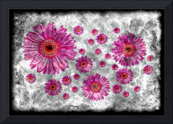 22a Abstract Floral Painting Digital Expressionism
