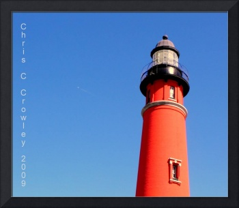 Lighthouse and a Clear, Blue Sky