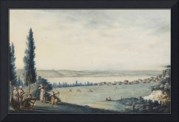 Luigi Mayer~View of Constantinople and Eyüp as see