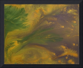 Contemporary Abstract Painting -  Liquid Dreams 4,