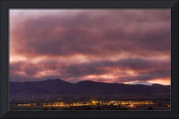 Colorado Wildfire Sky Panorama