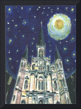Starry Night Cathedral