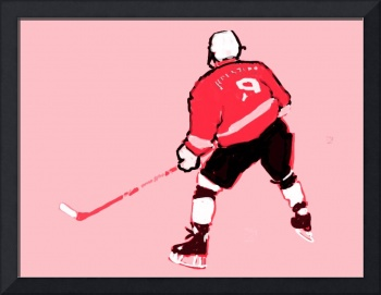 Hockey Center pink gray red black (c)