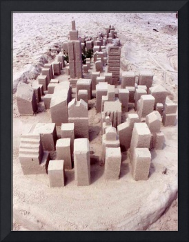 New York City Sand Sculpture