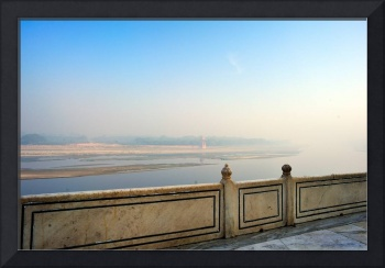 The Yamuna: River of Dreams. From the Taj Mahal