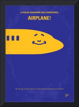 No392 My Airplane! minimal movie poster