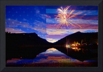 Rocky Mountain American Fireworks Show