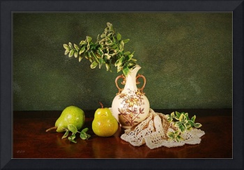 Two Pears and Urn