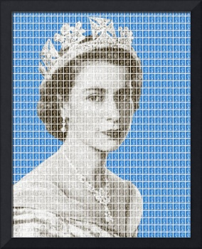 God save the Queen - Blue