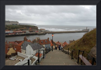 whitby harbour yorkshire