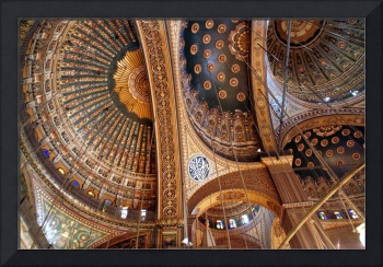 Domes of the Mohammed Ali Mosque