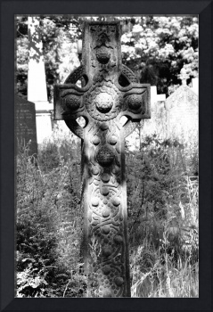 The Celtic Cross B&W