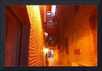 Old City Alley Philadelphia