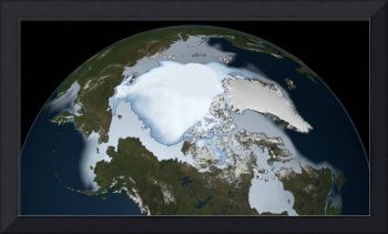 Oldest Arctic Sea Ice is Disappearing 1980