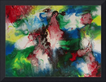 Abstract Modern Contemporary Fine Art Painting