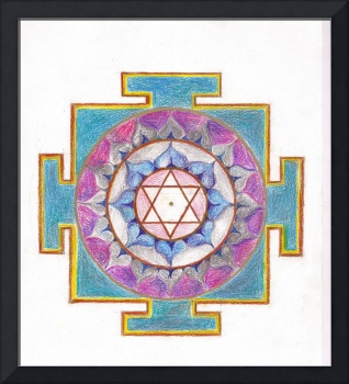 Meditation Art-Yantra Moon/Nourishment