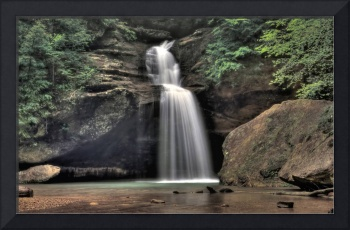 Lower Falls, Old Man's Cave, Hocking Hills, Ohio