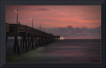 Pier Reflections, Dania Beach, FL