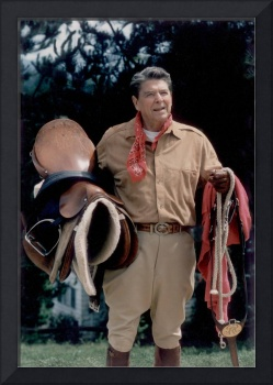Ronald Reagan at Rancho de Cielo