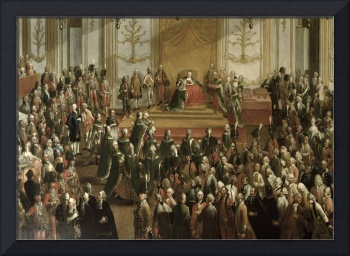 Maria Theresa at the Investiture of the Order of S