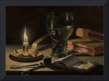 Pieter Claesz~Still Life with Lighted Candle