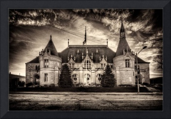 'Castle' Post Office - Saginaw, Michigan