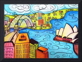 Whimsical Sydney Harbour