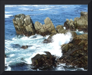 Pacific Coast - Upthrust Rocks
