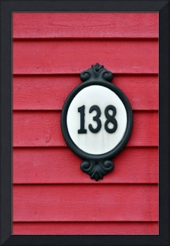 House number.