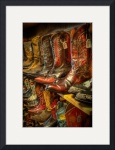 Boots in the Wild West Store (1) by Dave Wilson