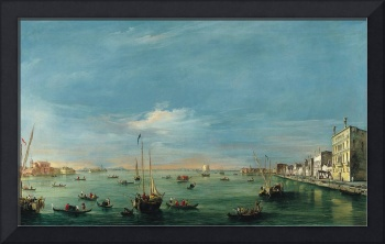 Venice,  The Giudecca Canal and the Zattere France