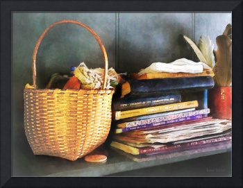 Americana - Books, Basket and Quills