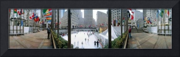 360 degree view of a city Rockefeller Center Manh