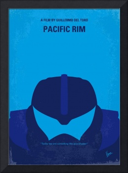 No306 My Pacific Rim minimal movie poster