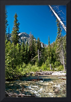 Mt. Woodring in Grand Teton National Park