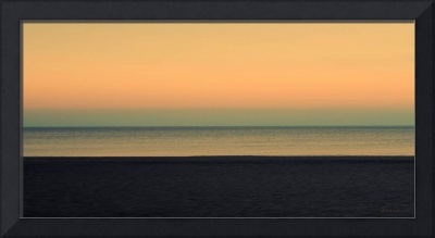 Pastel Sunrise Seascape 1b
