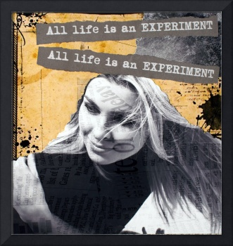 All life is an experiment