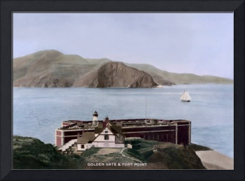 Fort Point at the Golden Gate, by Taber, San Franc