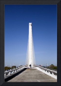 Alamillo Bridge, Sevilla, Spain