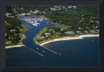 Saquatucket Harbor Aerial Photo