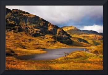 Loch Restil. Rest and Be Thankful. Scotland