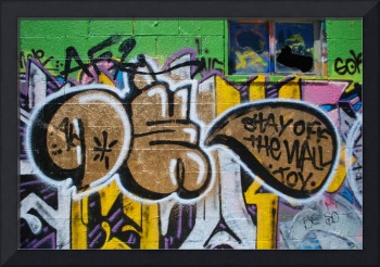 Graffiti - OK Stay Off the Wall