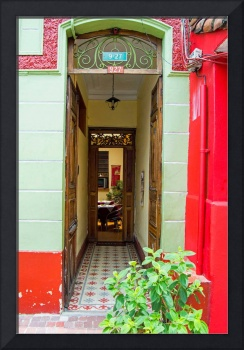 Bolivian Doorway